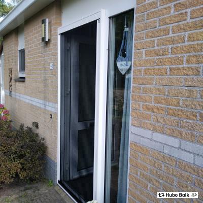 Hamstra plisse hor deur